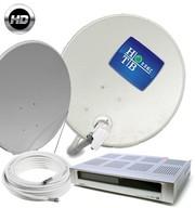 Спутниковую антенну ТриколорТВ,  НТВ+,  Full HD и 3D.